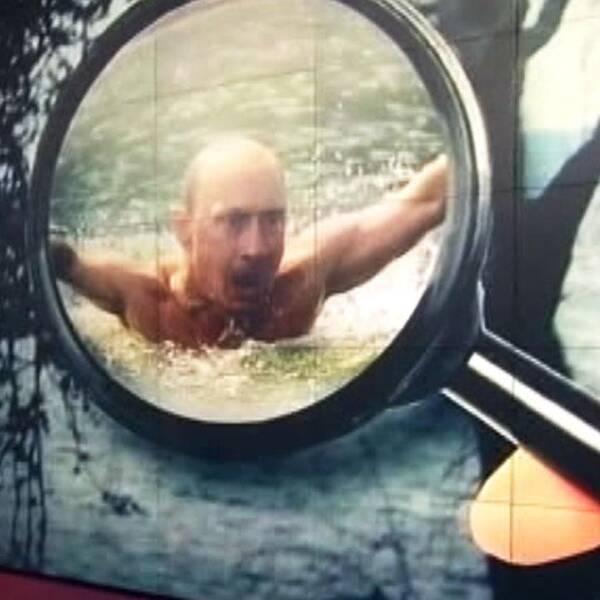 Putin under lupp i Kanholmsfjärden