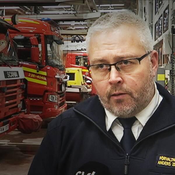 Kim Jutterström, Vision och Anders Zetterlund, Norrhälsinge räddningstjänst.