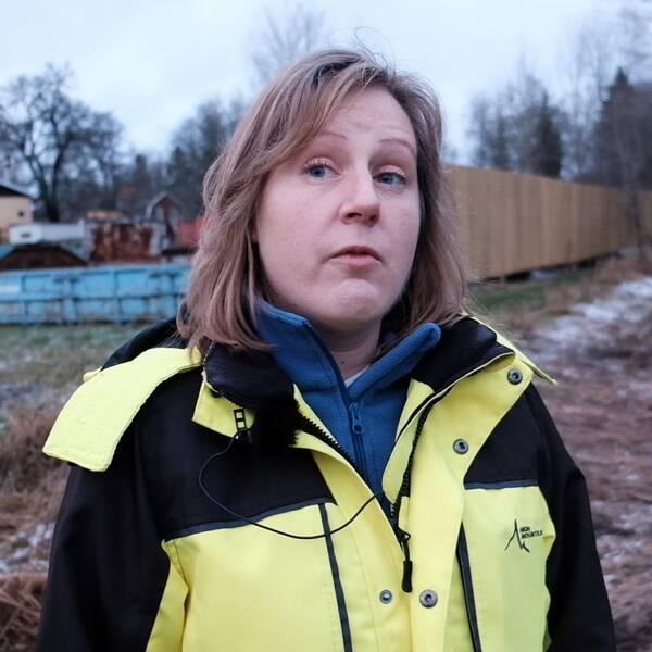 Zahrah Lifvendahl, vattensamordnare vid Uppsala kommun.