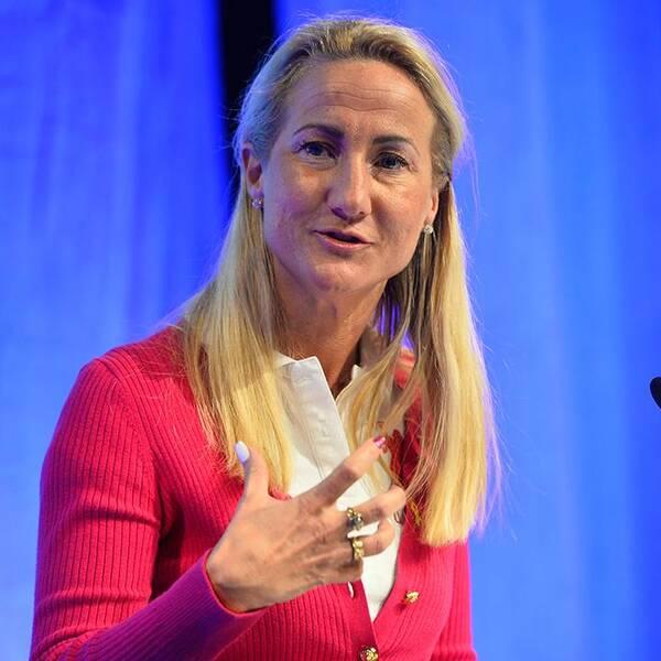 Cecilia Widegren, Moderaternas socialpolitiska talesperson i riksdagen.