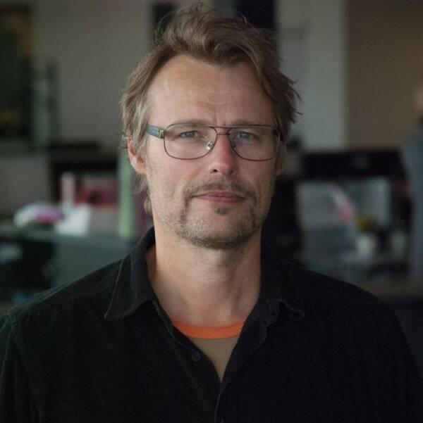 Reporter Sven Bergman.