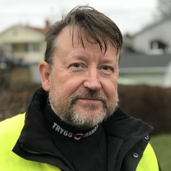 Rune Mattsson, besiktningsingenjör på Trygg Hansa.