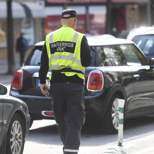 parkeringsvakt p-vakt