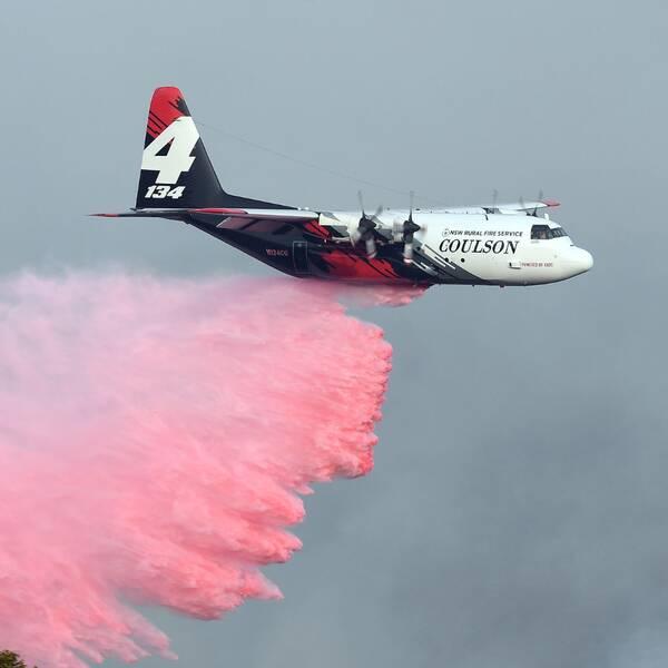 Australisk jättebrand under kontroll