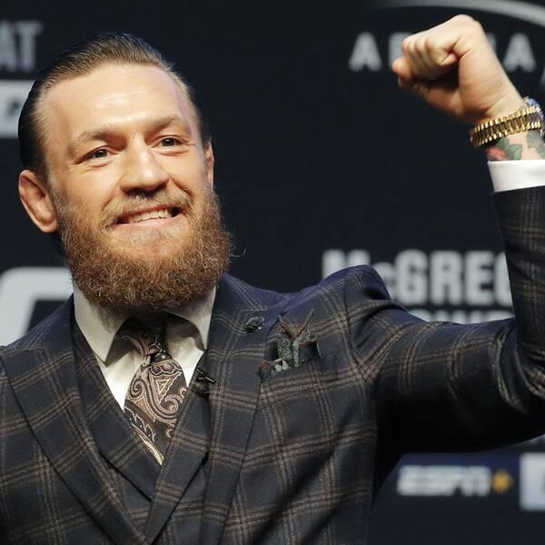 MMA-stjärnan Conor McGregor gör comeback i helgen efter 15 månaders inaktivitet.
