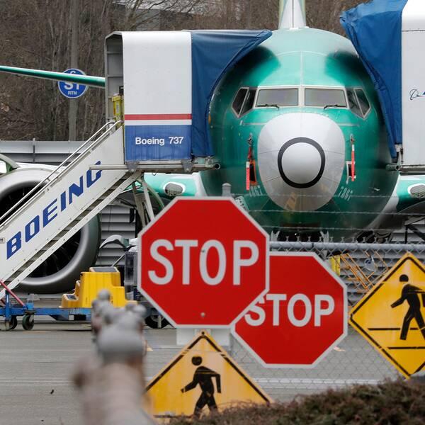 Flygplansmodellen Boeing