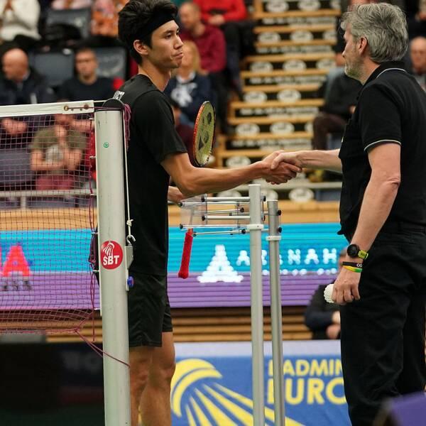 Felix Burestedt tvingades avbryta finalen i Swedish Open.