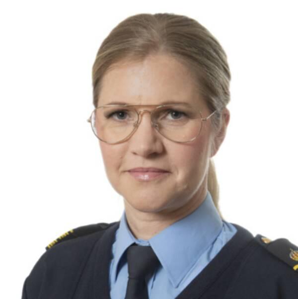 Kommissarie Pia Glenvik vid Nationella operativa avdelningen (Noa) leder polisens kameraprojekt.