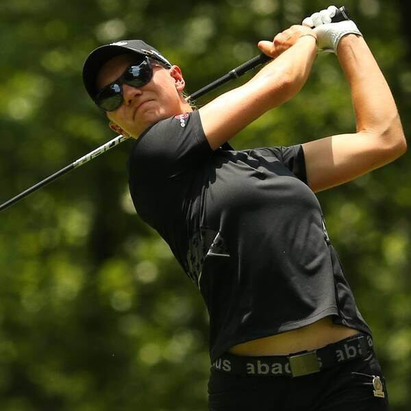 Madelene Sagström stod för kanonrunda i LPGA-tourtävlingen i Boca Raton, USA.