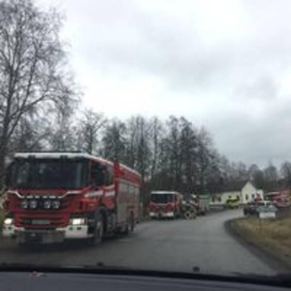 Brandbilar i Olshammar