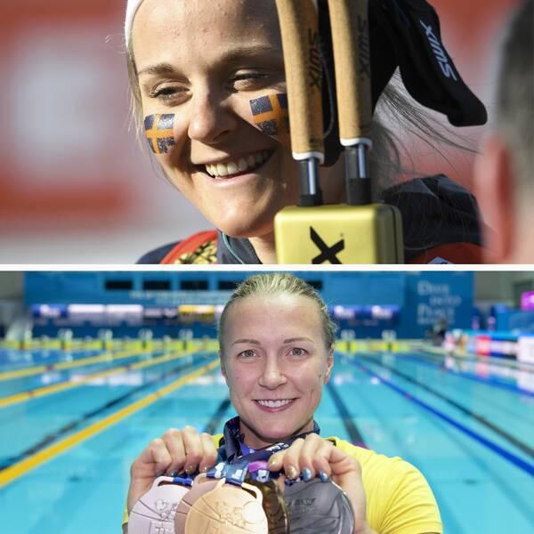 Tove Alexandersson, Stina Nilsson, Hanna Öberg och Sarah Sjöström är nominerade till Årets kvinnliga idrottare.