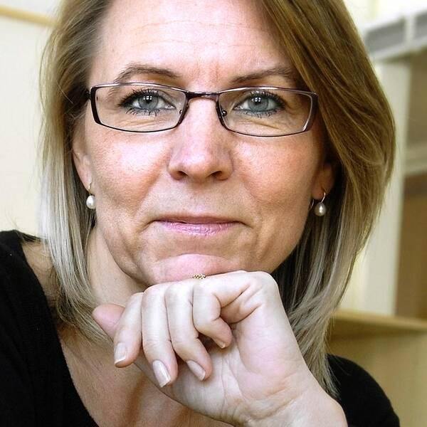 Kristina Ahlinder, vd svenska förläggareföreningen.