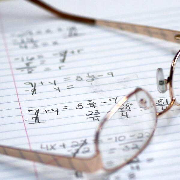 Matematik-tal