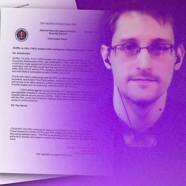 SVT Nyheter och frilansjournalisten Carolina Jemsby har fått en exklusiv intervju med den amerikanske visselblåsaren Edward Snowden.