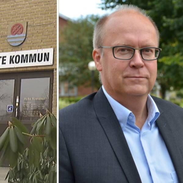 Per Borg, kommundirektör i Hylte kommun.