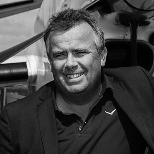 Ronny Lindberg, vd på Kalmar Öland airport.
