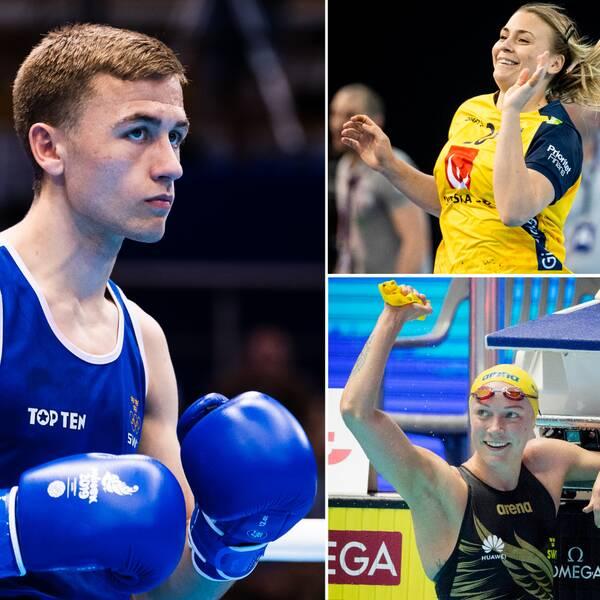 Felix Burestedt, Adam Chartoi, Isabelle Gulldén och Sarah Sjöström är fyra som antingen är klara eller siktar mot OS i Tokyo.