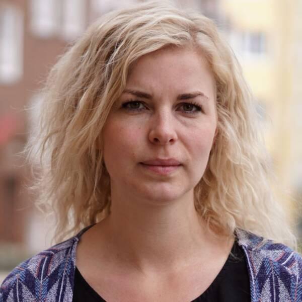 Ellinor Rostedt och SVT-kollegan Martin Hult Ogenblad nomineras till Sverigepriset för granskningen av den fuskande rut-företagaren i Blekinge.