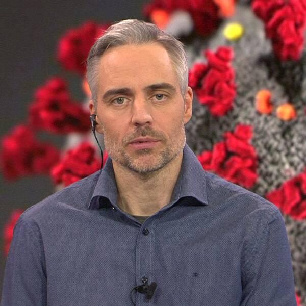 Anders Wallensten, biträdande statsepidemiolog vid Folkhälsomyndigheten