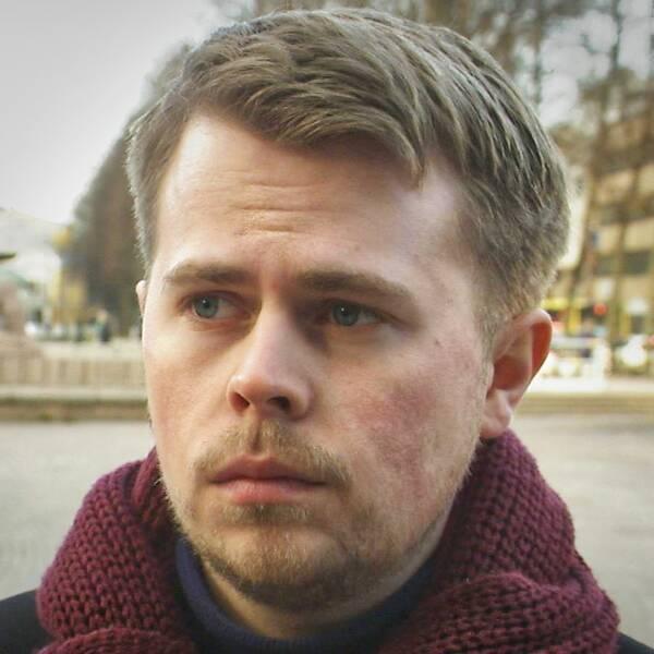 Erik Holmestig (C) och William Elofsson (M).