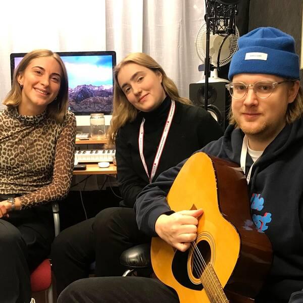 Amanda Aasa, Erik Grahn och Siri Jansson