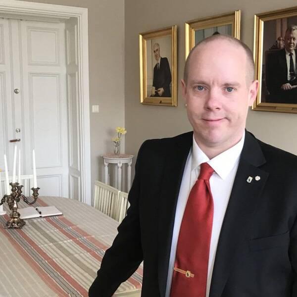 Kommunalrådet i Härnösand, Andreas Sjölander (S)