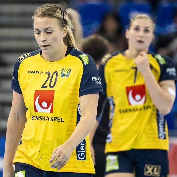 Isabelle Gulldén deppar under VM i Japan i december.
