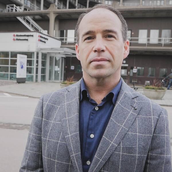 Håkan Kerrén, verksamhetschef för akuten i Helsingborg