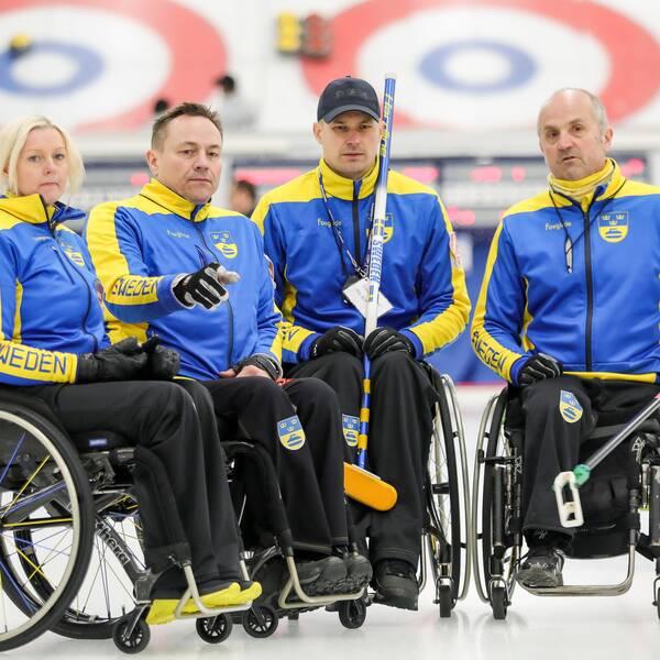Succé för Sverige i VM i rullstolscurling