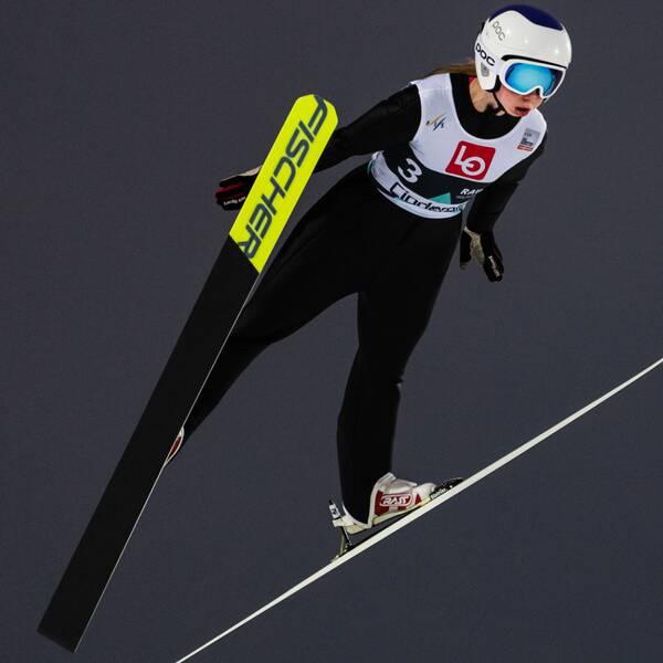Astrid Norstedt tog sina första världscuppoäng.