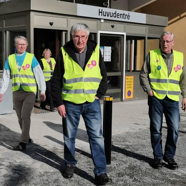 BB-ockupanterna i Sollefteå jobbar på distans.