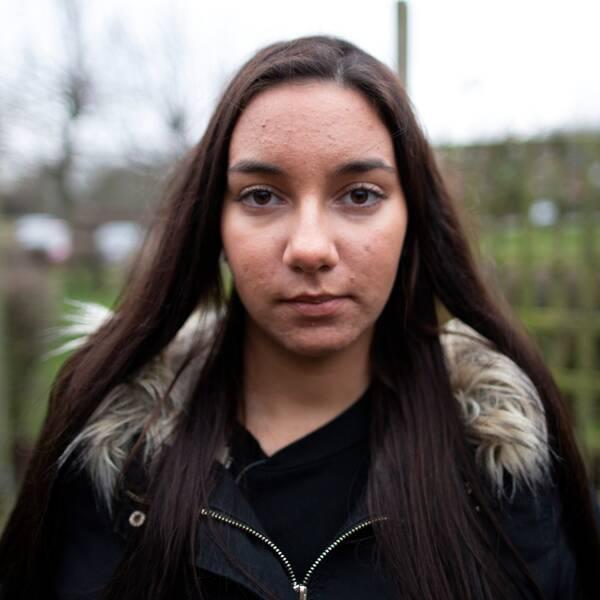 Hanna levde med dagliga hot och våld under flera år men vägrade vika ner sig.