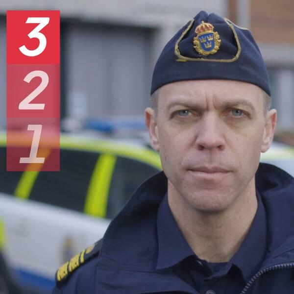 Porträttbild på polisen David Wunsch.