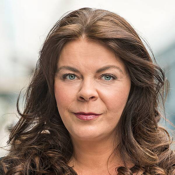 Jennifer Wegerup, SVT:s utrikesmedarbetare i Italien
