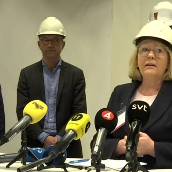 Region Stockholm håller pressträff