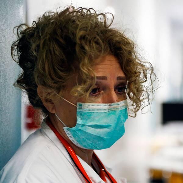En italiensk sjuksköterska