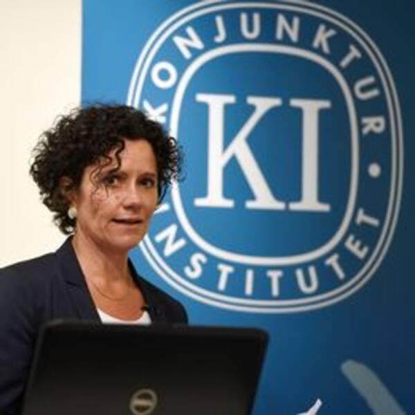 Konjunkturinstitutets prognoschef presenterar ny rapport