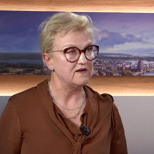 Eva Lindh Pernheim, regionchef för Västra Götaland och Halland, berättar om hur arbetsförmedlingen ska ta sig an den arbetslöshet väntas efter coronapandemin.