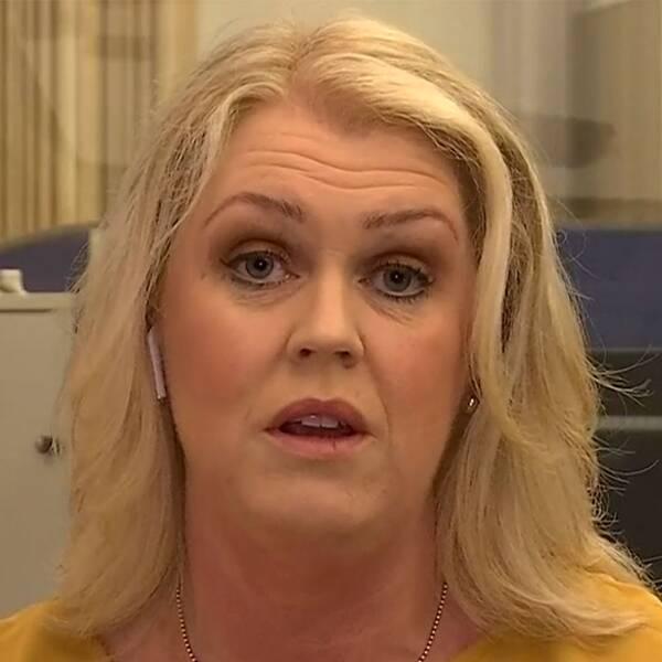 Socialminister Lena Hallengren (S)