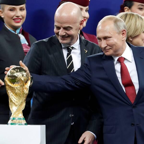 Enligt ett åtal mutade Ryssland flera Fifa-toppar för att få fotbolls-VM.