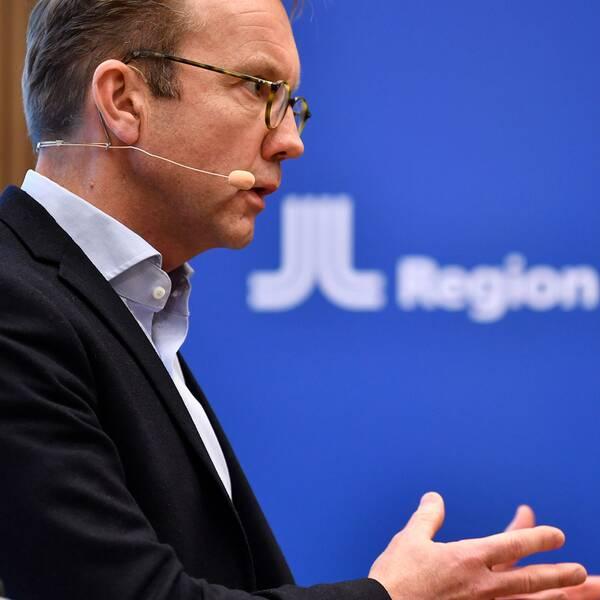 Björn Eriksson, hälso och sjukvårdsdirektör i Region Stockholm som har beställt skyddsutrustning till personal som vårdar covid-19 patienter. Arkivbild.