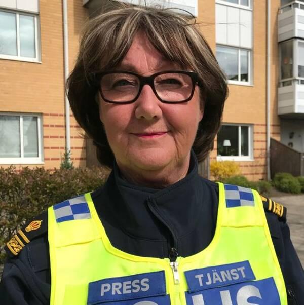 Ewa-Gun Westford, polisens presstalesperson i region Syd.