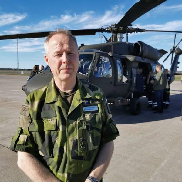 Carl-Johan Edström, Flygvapenchef