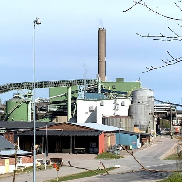 Stora Enso i Hyltebruk.