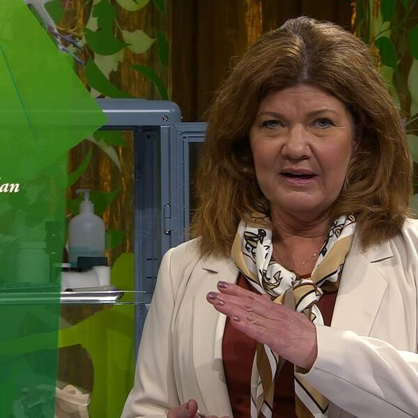 Doktor Karin Granberg i Fråga doktorn.