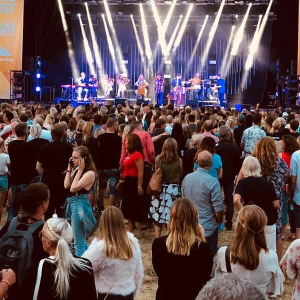 Bild från en tidigare upplaga av Härnösands stadsfest.