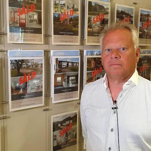 Glenn Johnson, mäklare i Åtvidaberg