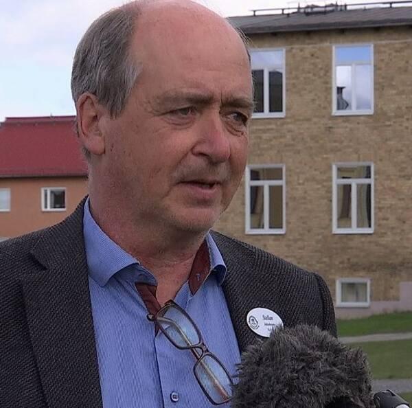 Stellan Jacobsson, rektor vid Härnösands gymnasium.