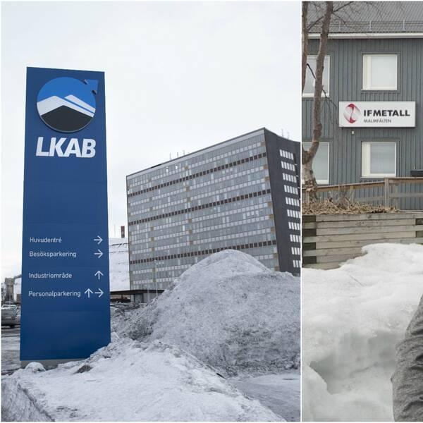 LKAB och gruvtolvans ordförande Anders Elenius.
