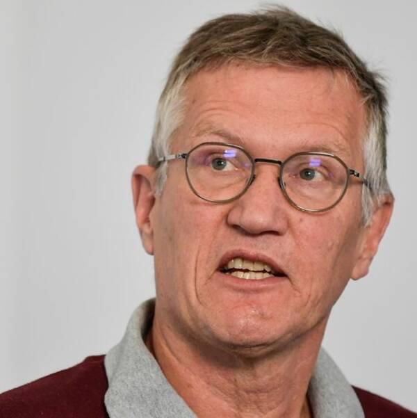 Tegnell: Besked om fotbollen i slutet av veckan
